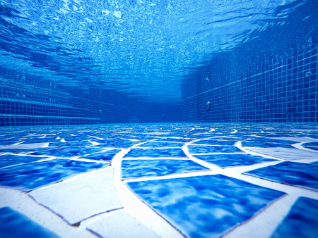 background' The Design under pools empty blue water transparent tiles blend ocean