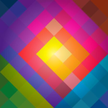 vecter: Colorful squares background. Row of squares vecter. EPS10 Illustration