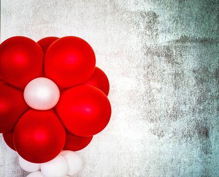 red balloon drak for halloween.
