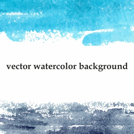 Abstract watercolor background  Grunge poster  Vector