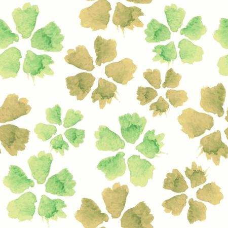 Floral seamless pattern. fleurs à l'aquarelle. Banque d'images - 19800903