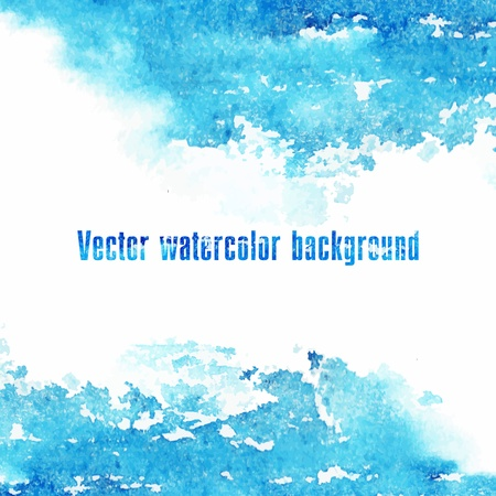 Vector watercolor background  Grunge paper Imagens - 20109965