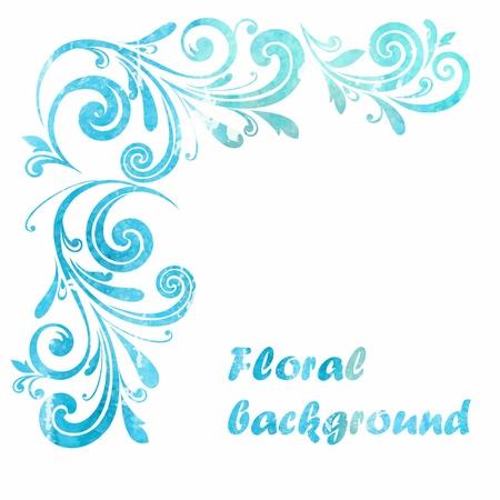 Floral frame  Decorative border