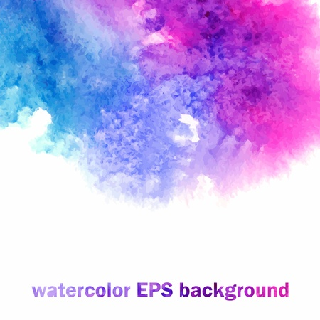 watercolor splash: watercolor background