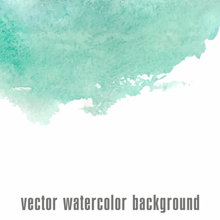 dirty water: Watercolor background  illustration  Artist card