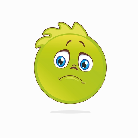 Frustrated smiley Stock Vector - 25020468