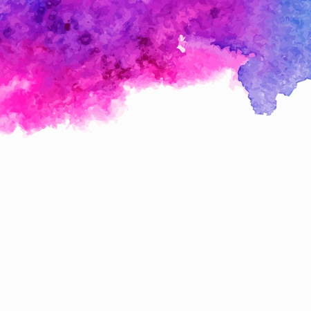 Vector background  Multicolor watercolor splash  Ilustracja