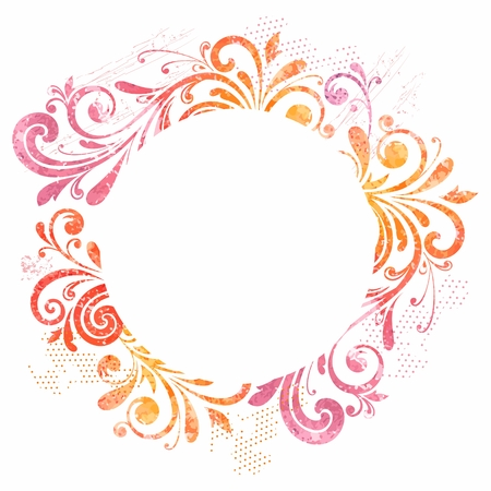 bordi decorativi: Turno cornice floreale