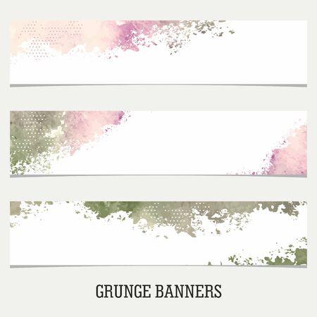 grungy header: Grunge Banners