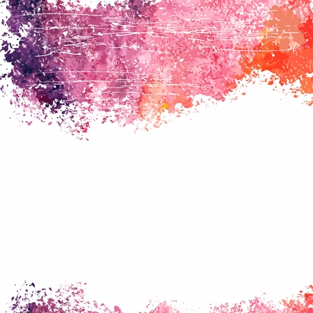 Vector watercolor background