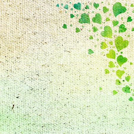 background canvas: Vintage love background  Canvas texture