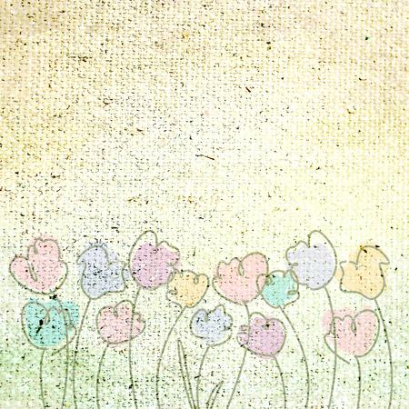background canvas: Vintage background  Canvas texture