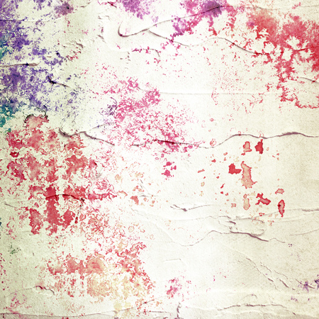 Abstract stucco background  Painted canvas  photo