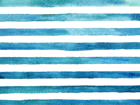 Vintage striped background. Watercolor style.
