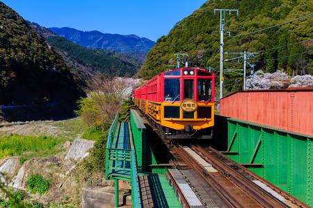 intermodal: Sakano Train in Japan