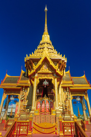 Royal Cremation Structure in Bangkok, Thailand