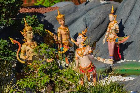 himmapan: Himmapan creatures at Royal Cremation Structure in Bangkok, Thailand