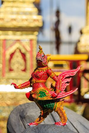 Himmapan creature at Royal Cremation Structure, Bangkok, Thailand