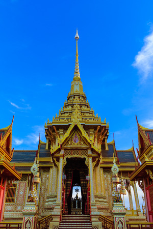 Royal Cremation Structure , Bangkok Thailand