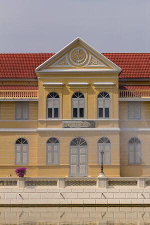 ayuthaya: Ancient Bangpain Palace , Ayutthaya in Thailand Stock Photo