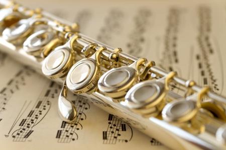 musicality: Spartiti e flauto d'argento