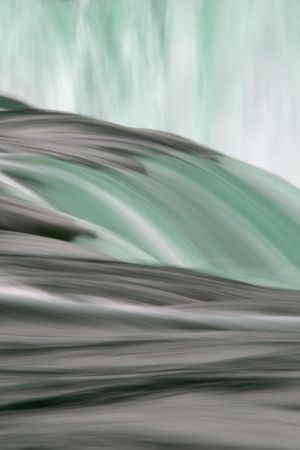 shutter: Niagara falls slow shutter speed abstract Stock Photo