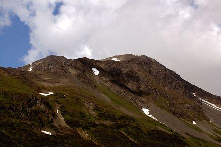 Mountain range, denali national park photo
