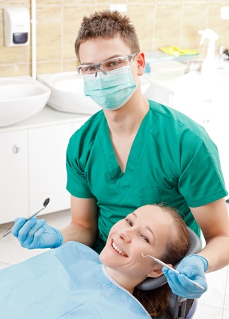 Comprehensive dental examination to prevent the oral disease Stock Photo - 18576627