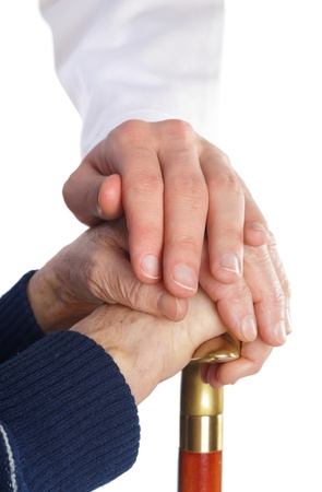 Comprehensive elderly medical care for safety old ages Stock Photo - 18575028