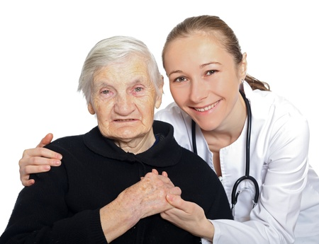 Emotional and psychological support after the loss of someone Stock Photo - 18715143