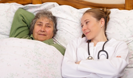 Feeling much better after the medical therapy Stock Photo - 19340481