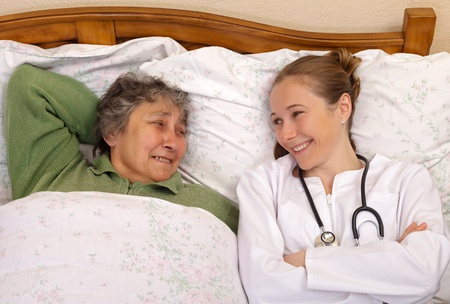 Feeling much better after the medical therapy Stock Photo - 19340502