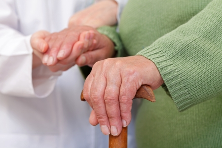 Elderly home care have cultural and geographic differences photo
