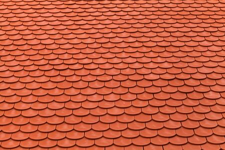 New Red Roof Tiles For Protection Of The Weather Stock Photo, Picture And  Royalty Free Image. Image 19629025.