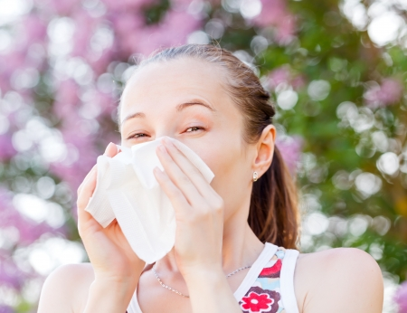 with pollen: Pollen allergy is a seasonal or regional allergic kind