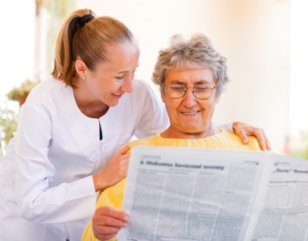 Find the right home care services for your loved Stock Photo - 23309582