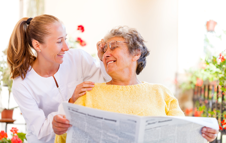 Find the right home care services for your loved Stock Photo - 23309584
