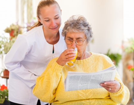 Find the right home care services for you Stock Photo - 23309585