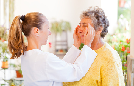 Find the right home care services for your loved Stock Photo - 23309587