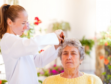 Find the right home care services for your loved Stock Photo - 23309590