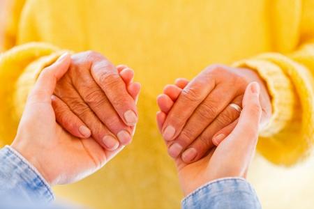 haushaltshilfe: Finden Sie die richtigen h�uslichen Pflege f�r Ihre Liebsten Lizenzfreie Bilder