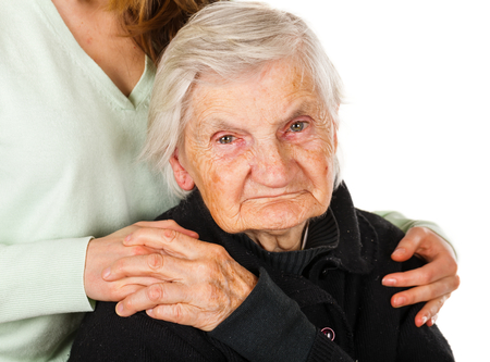 Choose the right caregiver for your loved one Stock Photo