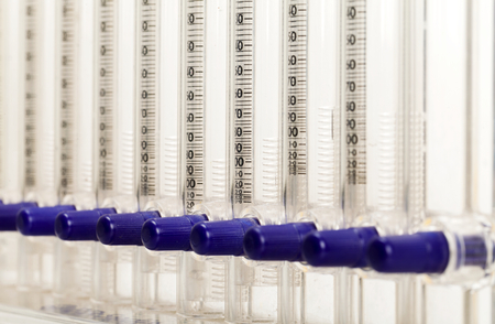 erythrocyte: Closeup photo of erythrocyte sedimentation rate instrument Stock Photo
