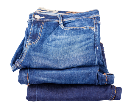 bluejeans: Photo of many blue jeans in one place