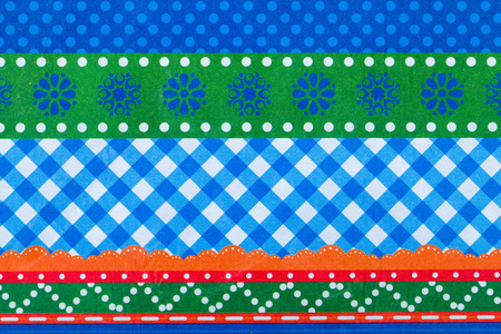 patterned wallpaper: Close up photo of a patterned wallpaper Stock Photo