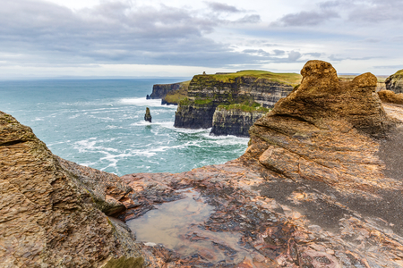 cliffs: Cliffs of Moher Tourist Attraction in Ireland