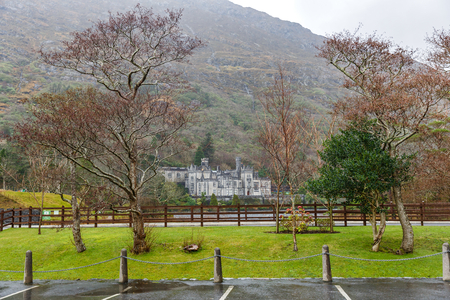 catholic nuns: Kylemore abbey the most famous abbey in Ireland