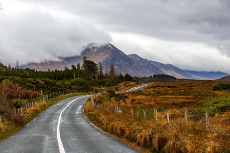 Journey auf wilden Atlantik Weg in Connemara in Irland