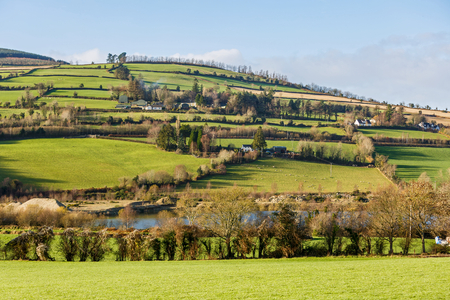 irish landscape: Photo of beautiful irish landscape on a sunny day