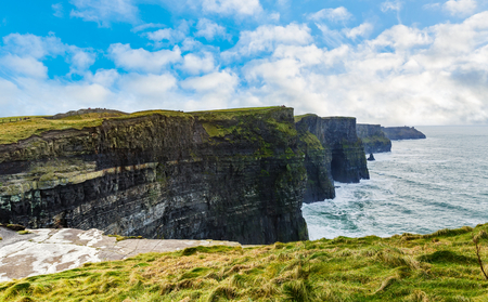 moher: Cliffs of Moher Tourist Attraction in Ireland